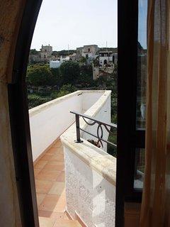 Il balcone in antichità era un punto di vedetta della città