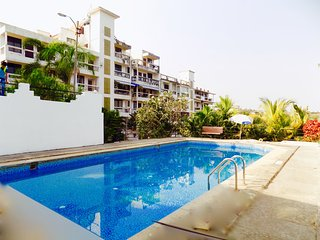 3bhk Scenic independent house with pool in Goa