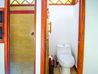 Bathroom, and separate shower room.