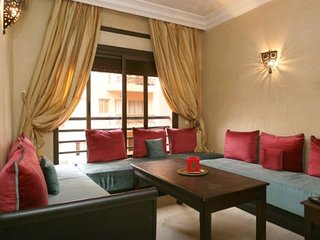 Beautiful Flat in Marrakech Caprice Palace- 5 mins walk to Menara Shopping Mall
