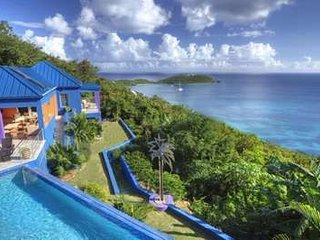Extraordinary 6 Bedroom Villa in Rendezvous, Cruz Bay