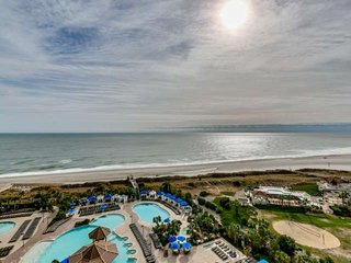 2.5 Acre Pool Complex,Fitness,Oceanfront N BeachPlantation 3BR3BACondo.Sleeps10