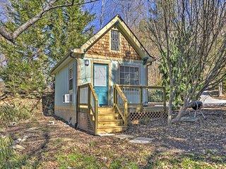 NEW! Quiet Arden Cabin, 6 Mi to Blue Ridge Parkway