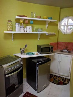 View of parts of the kitchen