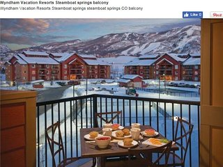 Wyndham Steamboat Springs Resort - Stay by the Slopes!