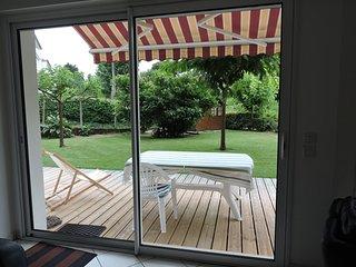 Bel appartement T4 avec jardin, Capbreton