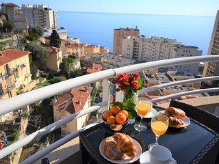 Penthouse Seaview 10 mins Monaco, Beausoleil