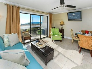 UNIT 1004 OPEN 3/10-17 NOW ONLY $820 TOTAL! BEACH OUT THE FRONT DOOR!