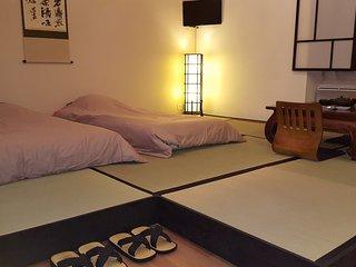 studio japonais avec futons