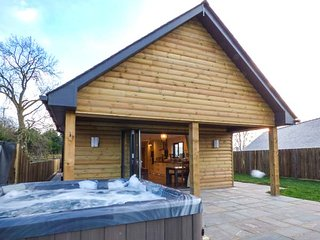 CABAN NANT DDU, ground floor lodge, hot tub, amazing views, Rhayader, Ref 934167, Abbeycwmhir