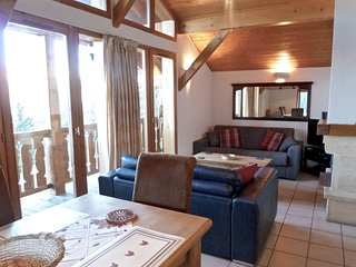 Vallandry 26 is a cozy chalet that sleeps up to 6p and is centrally located