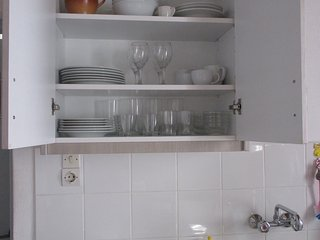 The house is very well stocked with crockery, glasses, cutlery etc.