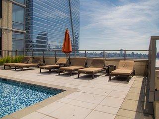 2BR Suite in New York Facing Manhattan Skyline, Jersey City
