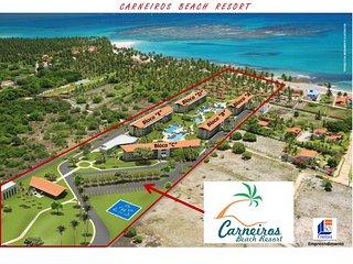 Carneiros Beach Resort, Flat 2 quartos, Praia dos Carneiros