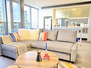 Nest-Apartments Luxury Preimum 3 bedroom 2 bathroom Huge Apartment, Melbourne