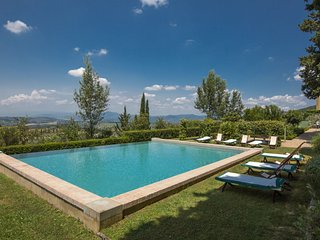 9 bedroom Villa in San Bartolomeo a Quarate, Tuscany, Italy : ref 5336807