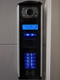 Video Intercom and key-less entry to the main door
