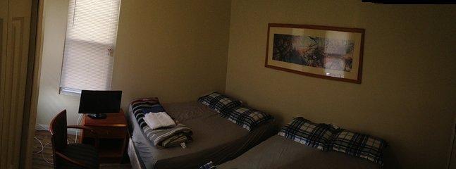 Real room.Available esta habitación tiene capacidad para 4 personas.