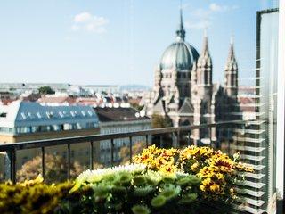 45m² Roof Top Studio w. balcony & beautifull view, Wenen