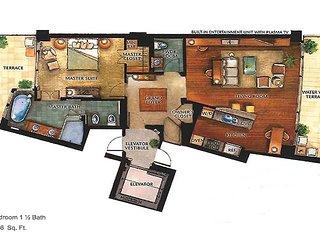 RITZ BAL HARBOUR HOTEL,1 BEDROOM SUITE,OCEAN VIEW