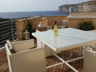 Exceptional location in this pretty fishing village, commanding phenomenal views, Xlendi