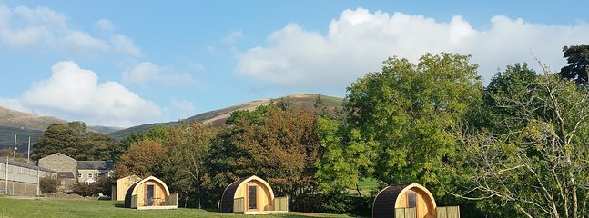 Howgills Hideaway - secluded glamping pods.