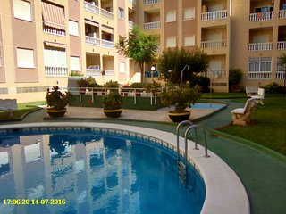 Central Flat near beach and marina of Torrevieja