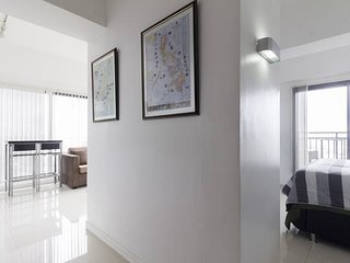 Corridor from Bedroom to Living Room Area.  High End Decoration in this condo