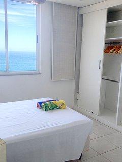 Master bedroom, with en-suite bathroom, wardrobes and ocean view.