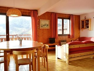 CHRISTIANIA C 3 rooms + mezznanine 6 persons, Le Grand-Bornand