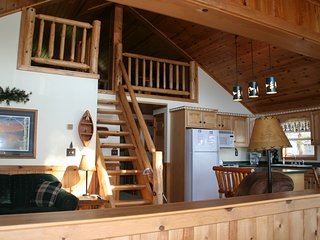LAKESIDE CABIN ON ST.GERMAIN LAKE-NEWLY REMODELED-2 PRIVATE DOCKS-RENT ALL YEAR