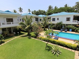 Casa Azure 2 bedroom Row House Close to the beach, Calangute/Candolim, Goa-RW 2