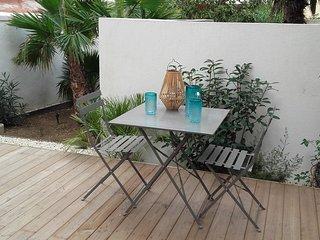 LA PALMERAIE Petite Maison de ville avec jardin Endoume/ St Victor Marseille 7e
