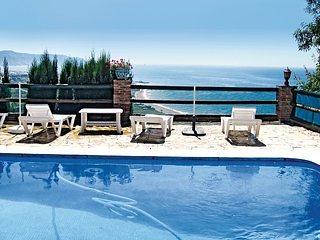 Villa con encanto y la mejor panorámica del mar, el pueblo y la montaña, Nerja