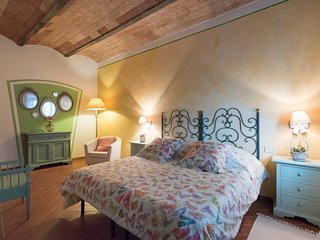 Self-catering apartment with one bedrooms in the Chianti area, apt. #6, Montagnana Val di Pesa