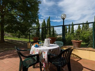 Two bedrooms apartment with pool near the Chianti village of Cerbaia, apt. #10