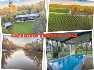 Cape Horn Vineyard Villa, Echuca