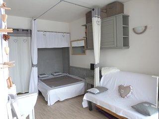 Studio au pied des pistes avec balcon sud ouest et casier à skis, Villard-de-Lans
