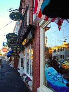 Main Street, Damariscotta, Maine.