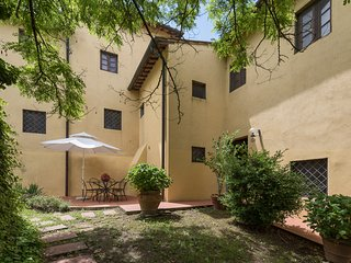 Apartment with two bedrooms and swimming pool in the Chianti area, apt. #7