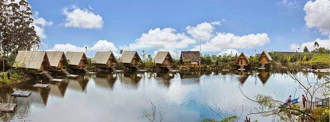About 45 minutes to Dusun Bambu (Lembang Direction)