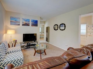 Two spacious, dog-friendly condos w/ updated amenities, patio, & gas grill!