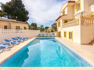 8 bedroom Villa in Calpe, Alicante, Costa Blanca, Spain : ref 2239929