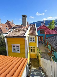 there are sunny days in Bergen as well