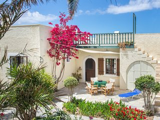 Bougainvillea house in Crete