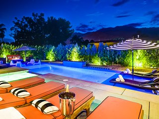 Brand New Pristine Luxury w/All Private Baths, Palm Springs
