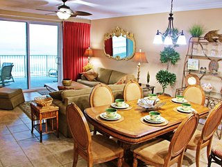 Perfect 3rd fl. End Unit, 4BR/3 FBath, 2K, 1Q, 1 Bunk+Trundle- Free Beach Chairs, Panama City Beach