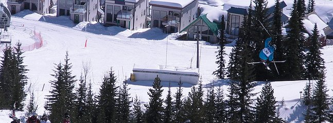 Chalet rear view from The Ridge