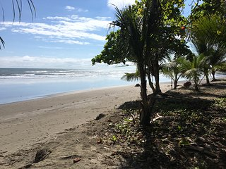 Walk one block to town and beach, Jaco