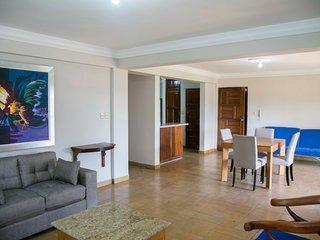 Gazcue, Santo Domingo, recently renovated 2 bedroom colonial style apartment